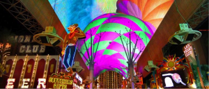 """Get a feel for """"old"""" Las Vegas at the Fremont Street Experience."""
