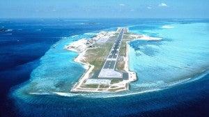 Malé International Airport.