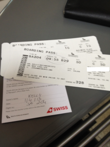 Always keep your boarding passes until your miles have posted.