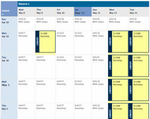 deltacom jfk ist calendar