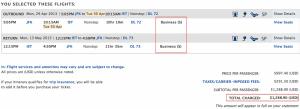 deltacom jfk ist final price