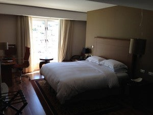King guest room.