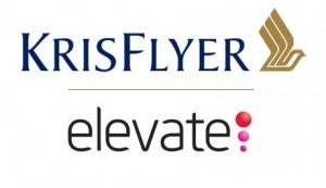 KrisFlyer/Elevate Partnership.