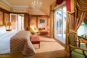 Junior suite at the Hotel Bristol.
