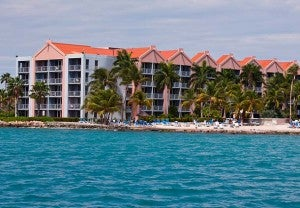 The family friendly Ocean Suites at the Renaissance Aruba