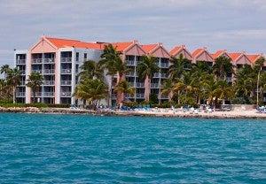 The family friendly Ocean Suites at the Renaissance Aruba
