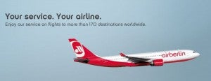Air Berlin may fly to over 170 destinations - but that doesn't matter if the schedule changes!