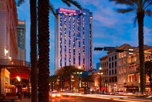 The Sheraton New Orleans features 1,110 guest rooms and suites.