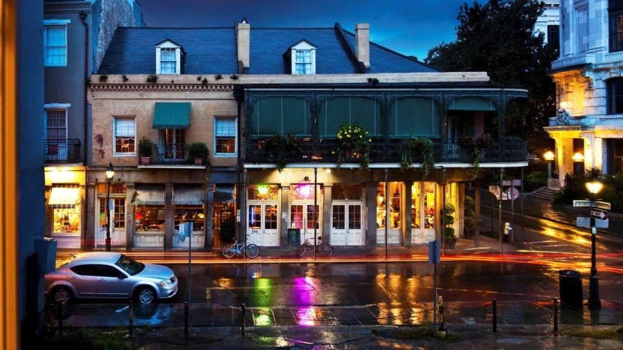 Take a stroll in the French Quarter.