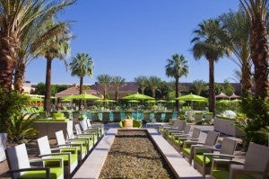The Renaissance Palm Springs Hotel.