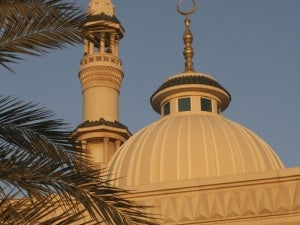 Cultural activities can include a visit to a traditional mosque.