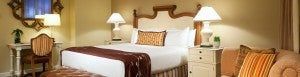 King guest room at the Miramonte Resort & Spa.