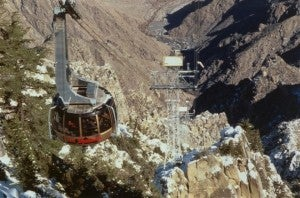 Take a ride up the Palm Springs Aerial Tramway.
