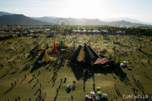 Thousands flock to the desert in April for the Coachella Music Festival.