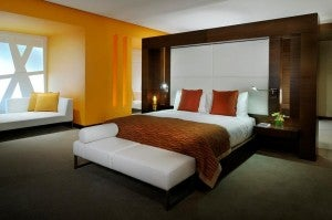 Premier Suite at the Radisson Royal Dubai.
