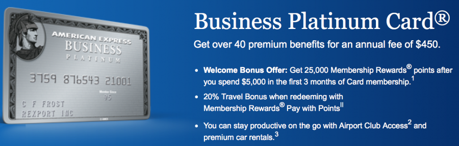 Amex Business Platinum