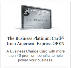 The Business Platinum Card from American Express.