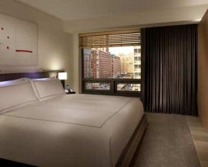 A Conrad New York Guest Room will be much more expensive after the devaluation.