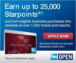 The Starwood SPG AMEX card...but are the points transferable?