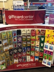 Double dip by using an Ink Bold or Ink Plus to buy Starbucks cards at Office Depot.