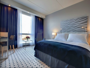 A standard double room at the