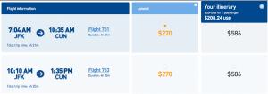 Take a trip to Cancun for $227.50.