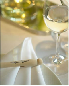 After a day of wine tasting enjoy a meal at French Laundy