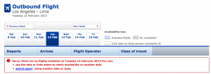 Ever get this error message on britishairways.com when you know award availability exists? You're not alone!