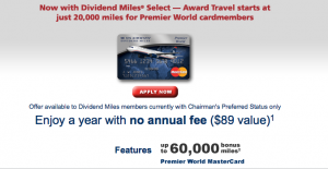 Might as well get in on the current credit card bonuses from both airlines while they're still around.