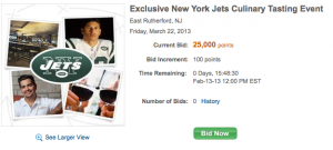 Enjoy a Jets game and great food with this Ultimate Rewards experience.