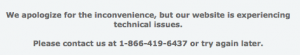 I'm not sure your application will work because of this error message.