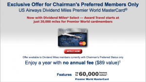 US Airways Chairmans MC