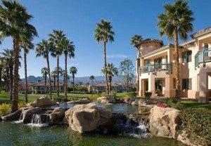 Exterior of the Marriott Desert Springs Villas II.