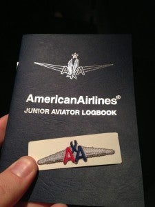 A thoughtful gift from the flight crew