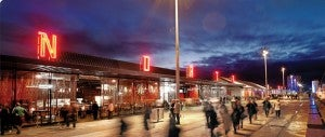 The newly rehabilitated Wynyard Quarter is a great place to go for a night out.