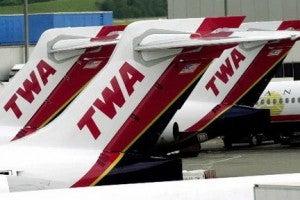 American took over TWA in 2001.