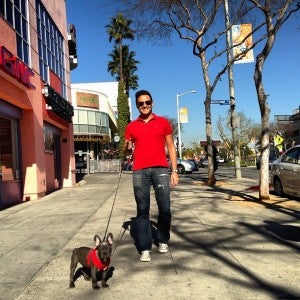 Miles and Uncle Eric (TPG Managing Editor) on a recent trip to LA