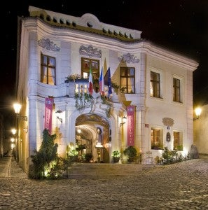 The Alchymist Grand Hotel & Spa is housed in a Sixteenth Century building.