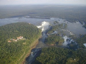 Iguazu Falls is one of the wonders of the natural world.