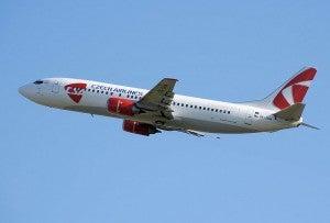 SkyTeam partner, Czech Airways has a hub in Prague.
