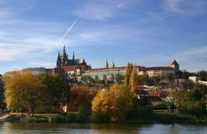 The Prague Castle was once the home of Czech kings.