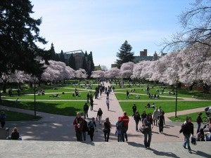 The University of Washington.