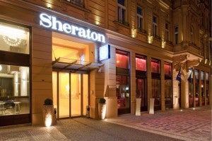 The Sheraton Prague Charles Square Hotel.