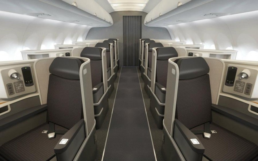 New American trans-continental first class