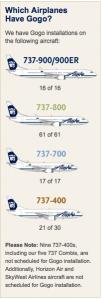 Nearly all of Alaska's domestic fleet has Gogo.