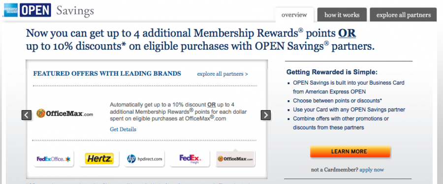 Amex Open Savings Changes Now Earn Points Or Discounts
