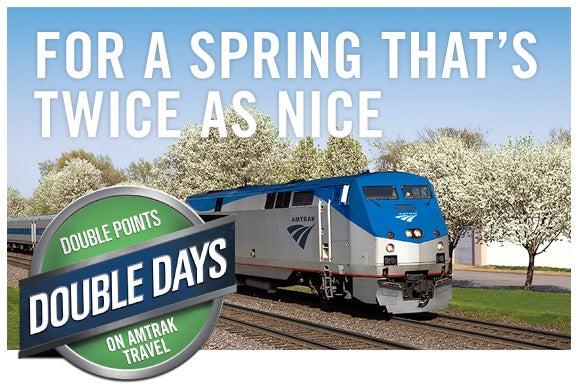 Amtrak Spring promo