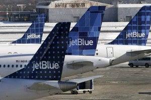 The Luis Muñoz Marín International Airport is a hub for JetBlue.
