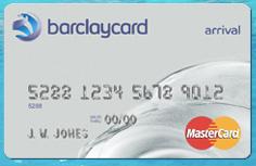 Barclaycard Arrival card