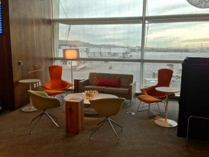 Centurion lounge space